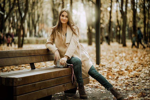 elegancka i klasyczna stylizacja na jesień