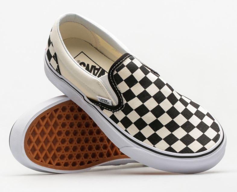 Vans slip on- buty funkcjonalne i stylowe