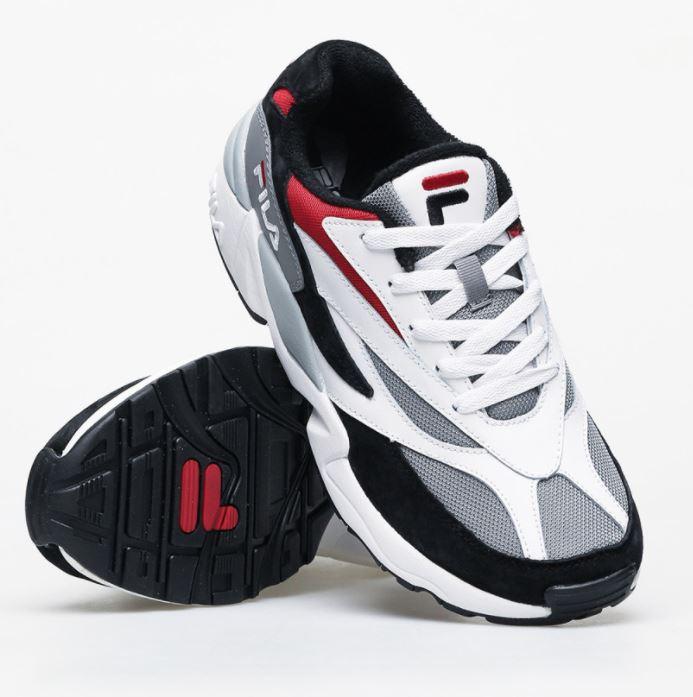 Sneakersy fila dopracowane w każdym szczególe