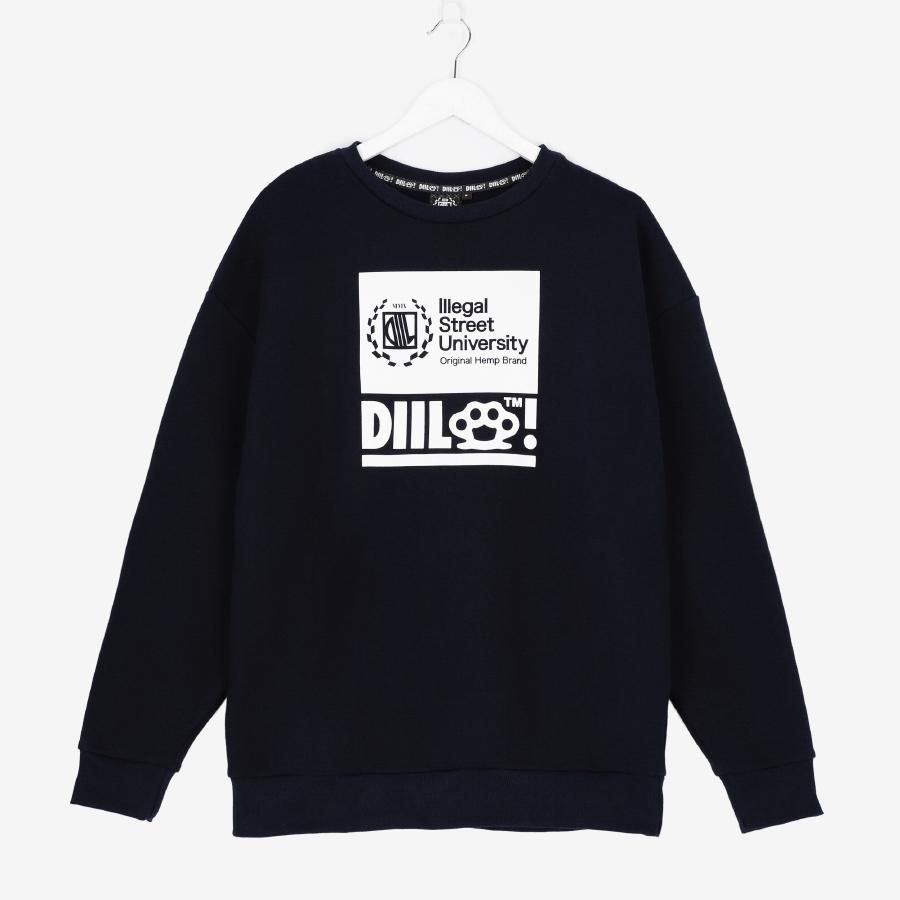 bluza Diil Illegal Street University