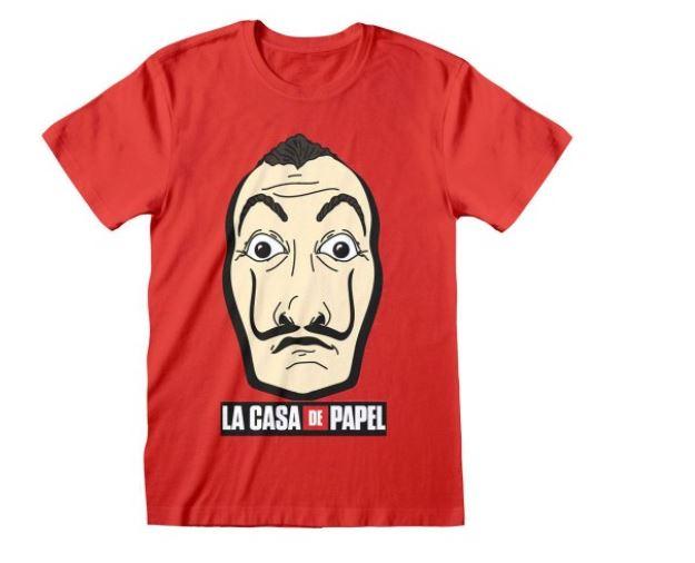 """Dlaczego warto kupować koszulki z serialu """"Dom z papieru""""?"""