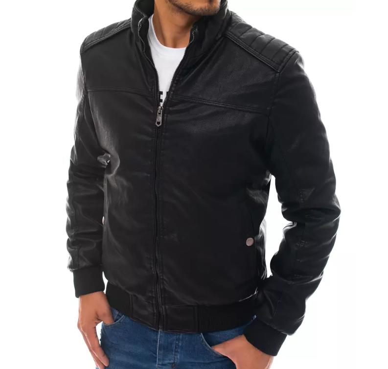 Z czym nosić męskie kurtki skórzane?